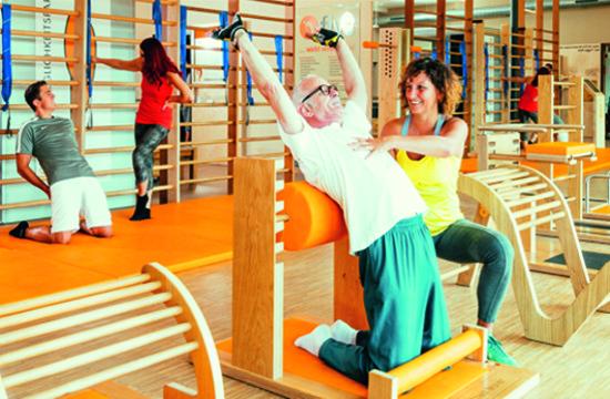Rücken- und Gelenktraining im Lifestyle Fintess in Herzogenbuchsee