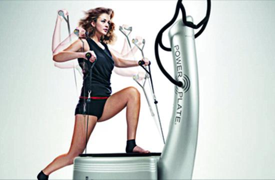 Vibrationstraining im Lifestyle Fitness Herzogenbuchsee
