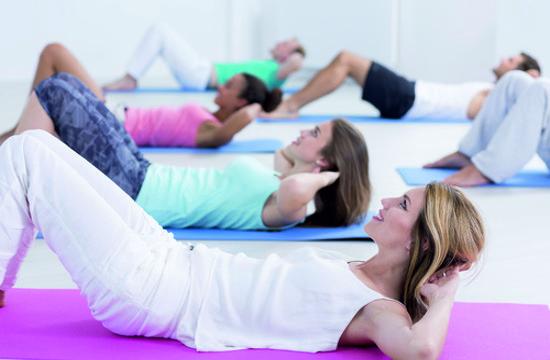 Rückenturnen im Lifestyle Fitness in Herzogenbuchsee