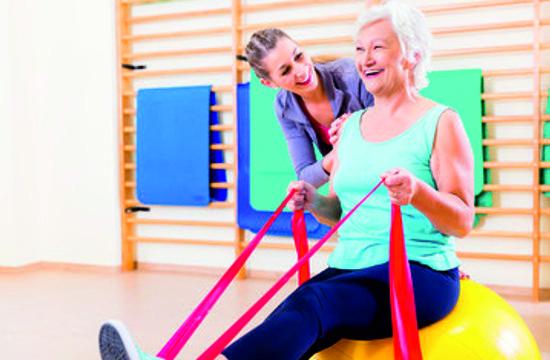 Reha, betreutes Training im Lifestyle Fitness in Herzogenbuchsee