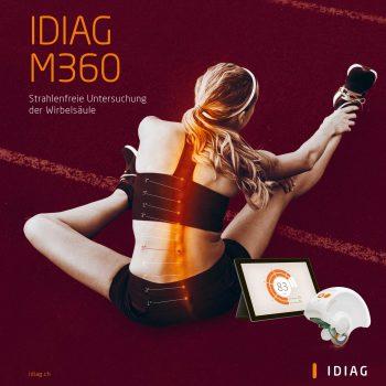 Idiag M360 Rückenscan